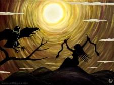 """""""The Priestess"""" de Gaia Orion - artbygaia.com"""