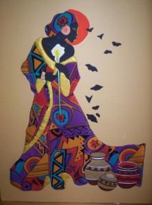 déesse africaine