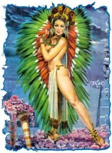 Xochiquetzal: Aztec goddess of spring