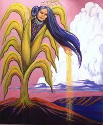 Fille Maïs jaune