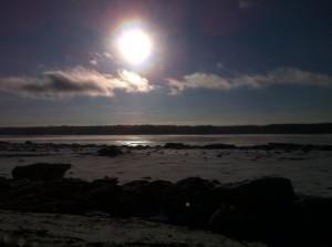 Levée du soleil QC (01-01-2015)