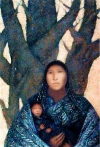 femme mère