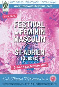 Festival du Féminin Masculin®  à Saint-Adrien @ École Féminin Masculin Sacré